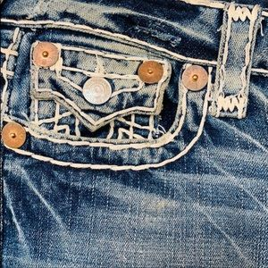 True Religion Jeans - True Religion Joey T-stitched Twist Seam Jeans